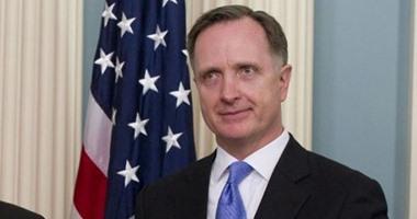 السفير الأمريكى بالقاهرة ستيفن بيكروفت