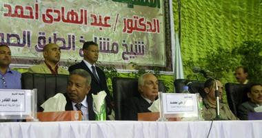 بدء احتفال الطرق الصوفية بمولد إبراهيم الدسوقى بكفر الشيخ