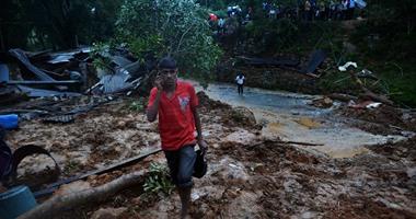 مصرع 17 شخصا فى بورما بسبب انزلاق للتربة ناجم عن الأمطار الغزيرة