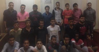 مديرية أمن الجيزة: ضبط 23 إخوانيًا شاركوا فى أعمال عنف