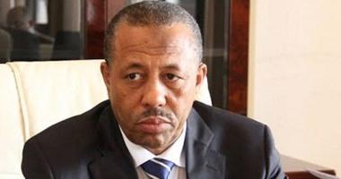 رئيس الحكومة الليبية المؤقتة يؤكد أهمية اختيار مبعوث أممى إلى ليبيا