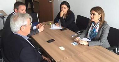 وزيرة التعاون تتفق مع الأمم المتحدة للاستفادة من خبراتها فى تطوير محافظات الصعيد