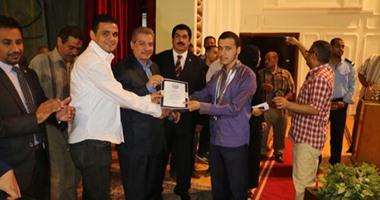 جامعة بنى سويف تحتفل بحصولها على المركز السابع بأسبوع شباب الجامعات