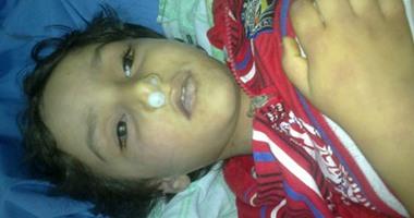 بالصور.. أسرة بالشرقية تضرب عن الطعام للمطالبة بكشف غموض مقتل طفليها