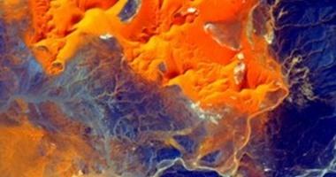 رائد فضاء يلتقط صورًا تعكس جمال الصحراء الكبرى من الفضاء