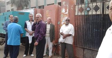 بالفيديو.. توافد الناخبين أمام اللجان الانتخابية بالهرم قبل فتح باب التصويت