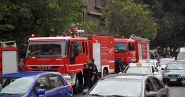 الحماية المدنية تسيطر على حريق داخل شقة قرب مدرسة فى كرداسة