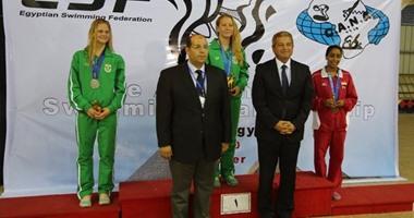 وزير الرياضة يحضر ختام بطولة أفريقيا للسباحة بالكلية الحربية