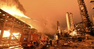 ارتفاع حصيلة ضحايا انفجار بمصنع وسط الصين إلى 10 أشخاص