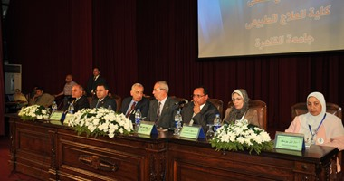 بالصور.. انطلاق فعاليات المؤتمر الأول للبحث العلمى بجامعة القاهرة