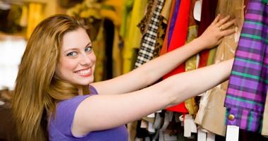 فن شراء الملابس