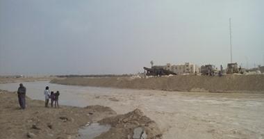 بالصور.. السيول تعزل مدينة بوسط محافظة شمال سيناء