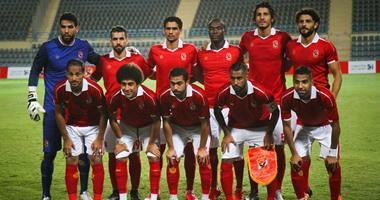 الأهلى يتدرب على ملعب الشباب فى الإمارات  اليوم السابع