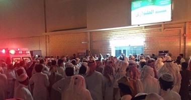 انفجار بمسجد بالسعودية