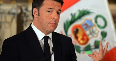 رئيس وزراء إيطاليا يلمح إلى تفضيله فوز كلينتون فى الانتخابات الأمريكية