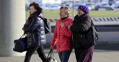 أهالى ضحايا الطائرة الروسية المنكوبة