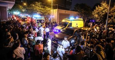 تسليم جثامين 4 مصريين توفوا فى حريق مصنع بالخرطوم إلى أسرهم بالقاهرة