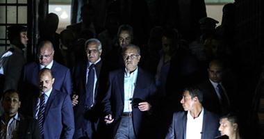 وصول المهندس شريف إسماعيل رئيس مجلس الوزراء إلى مشرحة زينهم
