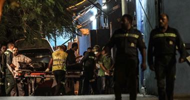 وصول جثث الضحايا مشرحة زينهم