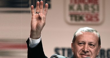أردوغان خلال المؤتمر