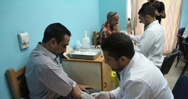 وصول 9 من أهالى المفقودين بالحج مستشفى الشيخ زايد لإجراء تحليل DNA