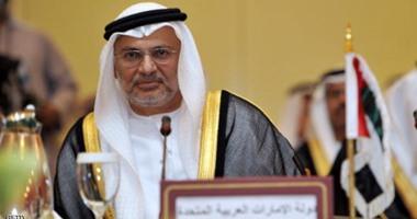أنور قرقاش: مقابلة مميزة لسمو الشيخ محمد بن زايد مع وزير الخارجية الأمريكى