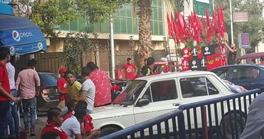 بالصور.. الجماهير الحمراء لمجلس الإدارة: السوبر يا أهلى
