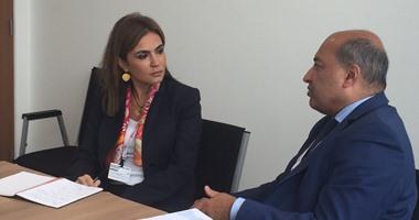 وزيرة التعاون تستعرض مساهمة البنك الأروبى فى تمويل الكهرباء والمترو