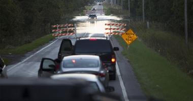 بالصور.. فيضانات عارمة فى أنحاء ساوث كارولاينا الأمريكية