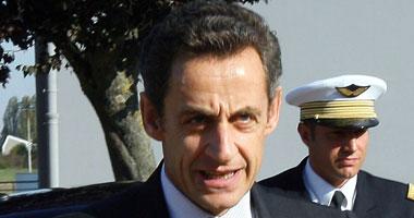 الرئيس الفرنسى المنتهية ولايته نيكولا ساركوزى