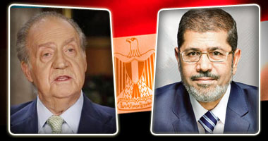 مرسى ونظيره اليونانى يؤكدان رفضهما التدخل العسكرى فى سوريا