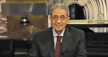 عمرو موسى: الانتخابات الرئاسية المبكرة من صميم العملية الديمقراطية