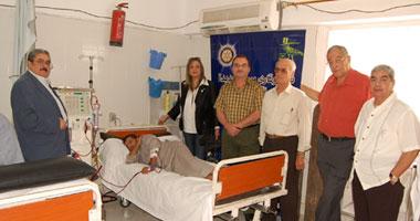 روتارى مصر الجديدة يفتتح وحدة كلى صناعية بمستشفى القناطر الخيرى