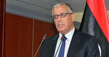 رئيس الحكومة الليبية المؤقتة على زيدان
