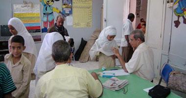 توقيع الكشف الطبي على تلاميذ مدارس أبنوب