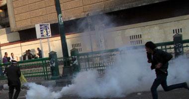 الأمن يفرض سيطرته ميدان التحريروالمتظاهرون