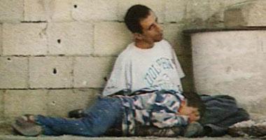 لحظة اغتيال الطفل محمد الدرة