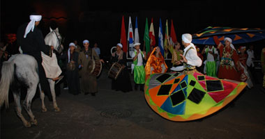 فرقة ملوى للفنون الشعبية تحصد المركز الأول بمهرجان فنون الصحراء بتونس  الثلاثاء، 15 يناير 2013