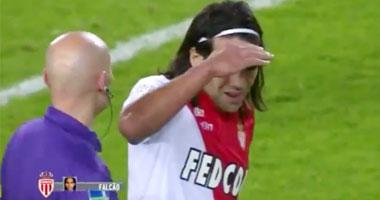 راداميل فالكاو لاعب نادى موناكو الفرنسى