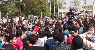 """تظاهر طلاب """"الإخوان"""" بجامعة الأزهر فرع طنطا"""