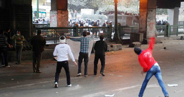 اشتباكات بين الأمن والمتظاهرين