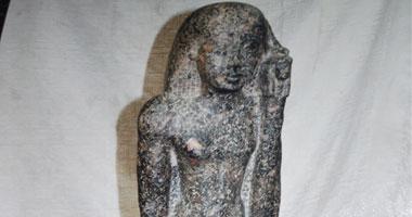 ضبط تمثال أثرى قبل تهريبه فى كمين القرضا بكفر الشيخ 11201217191455