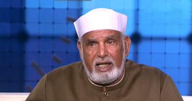 وفاة الشيخ عبد الرحيم الشعراوى ابن إمام الدعاة و صورته سبحان الله تشبه صورة ابيه الشيخ الشعراوى