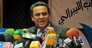 د .أحمد سعيد رئيس حزب المصريين الاحرار
