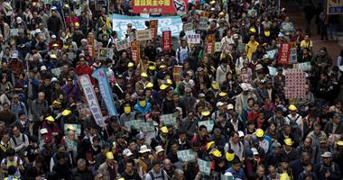 متظاهرو هونج كونج يهددون باحتلال المبانى الحكومية حال عدم استقالتها