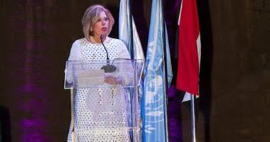 مشيرة خطاب: الاتفاقيات الاقتصادية والسياسية لا تكفى وحدها لبناء السلام الدائم