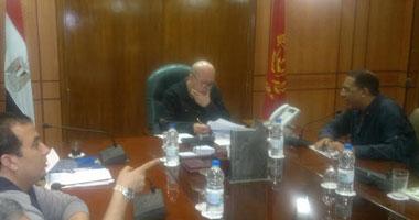محافظ بورسعيد يجتمع بمجلس المصرى لمناقشة أمور النادى