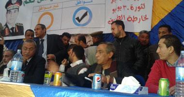 """حسن شاهين: مستعد لارتداء البدلة """"الكاكى"""" ومحاربة الإرهاب مع جيش مصر"""