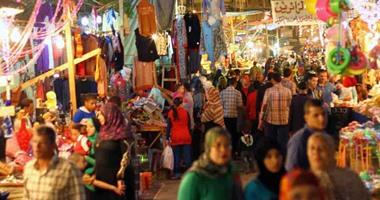 المئات يحتفلون بالليلة الختامية لمولد العارف بالله إبراهيم الدسوقى بكفر الشيخ