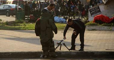 """انفجار عبوة بدائية الصنع أمام فرع شركة """"فودافون"""" بحدائق القبة"""